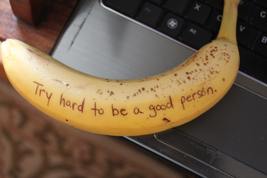 bananas good person theuglyvolvo