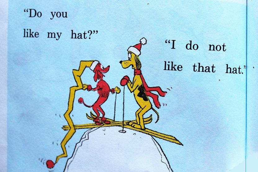ski hat confrontation