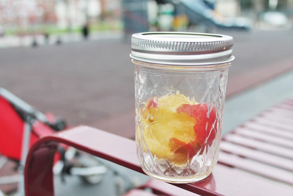 mason jar fruit the ugly volvo